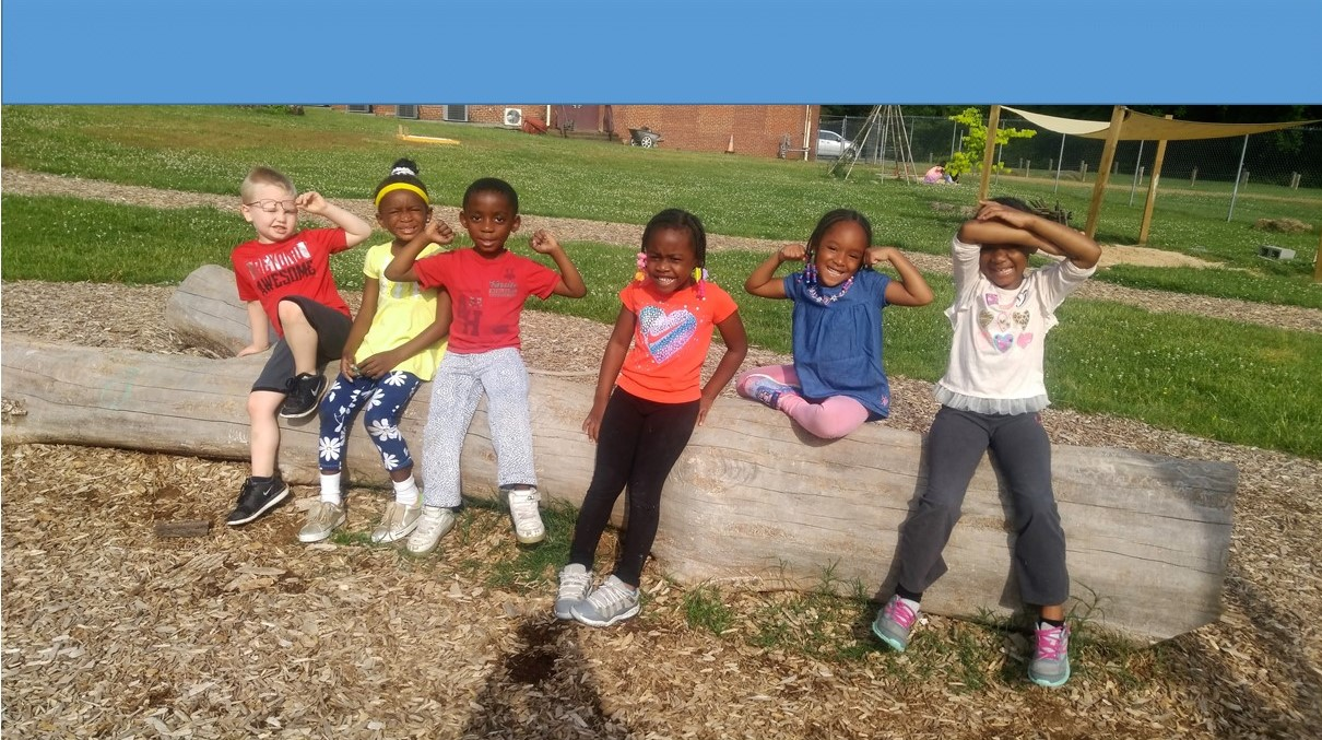 kids playing at head start in knoxville, tn